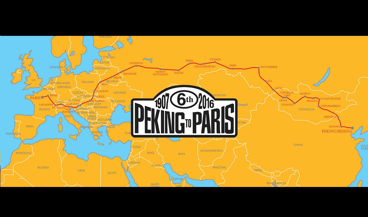 Frederique Constant Official Timekeeper for the Peking to Paris Motor Challenge