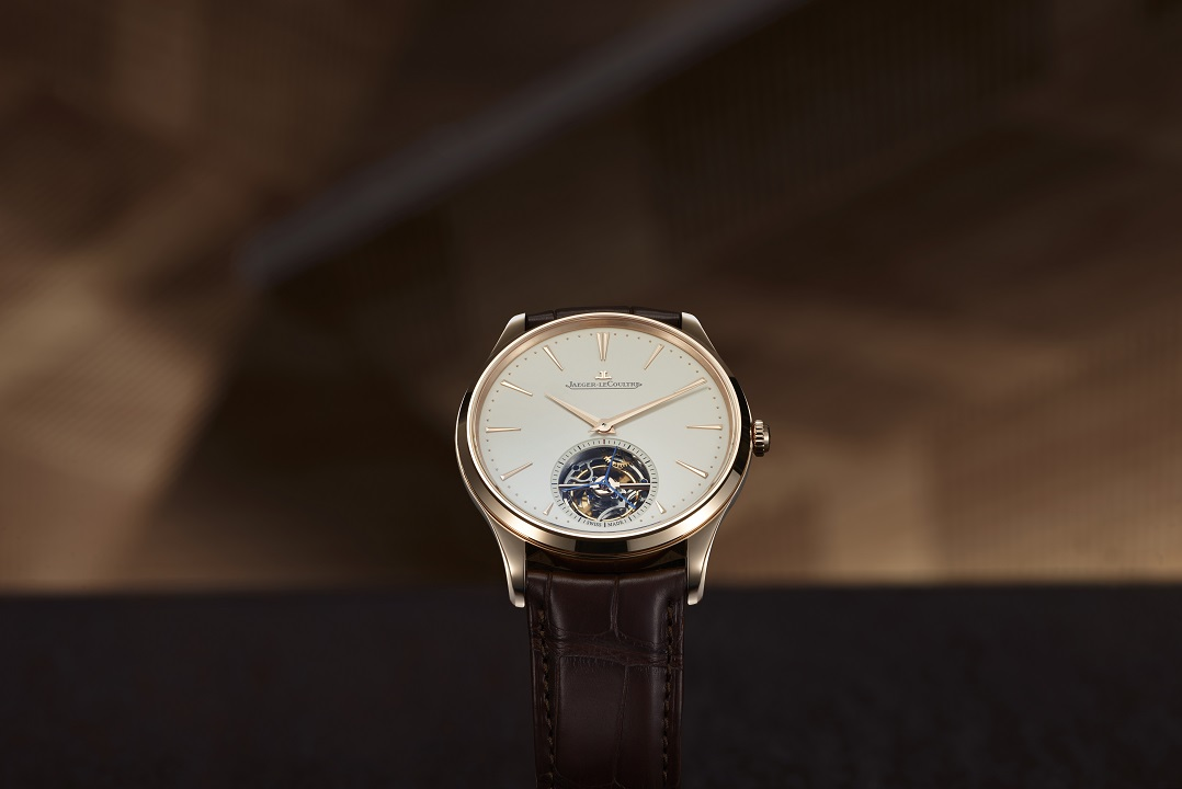 Must See Monday: Jaeger-LeCoultre Master Ultra-Thin Tourbillon in Pink Gold