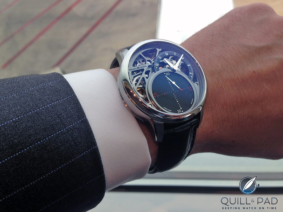 Name:  Maurice-Lacroix-Masterpiece-Mysterious-Seconds_MP6558_wristshot.jpg Views: 85 Size:  171.5 KB