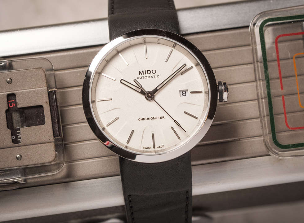 Mido is continuing its fondness for contemporary architecture with a timepiece directly inspired by the Solomon R. Guggenheim Museum in New York: the Mido Inspired By Architecture watch.