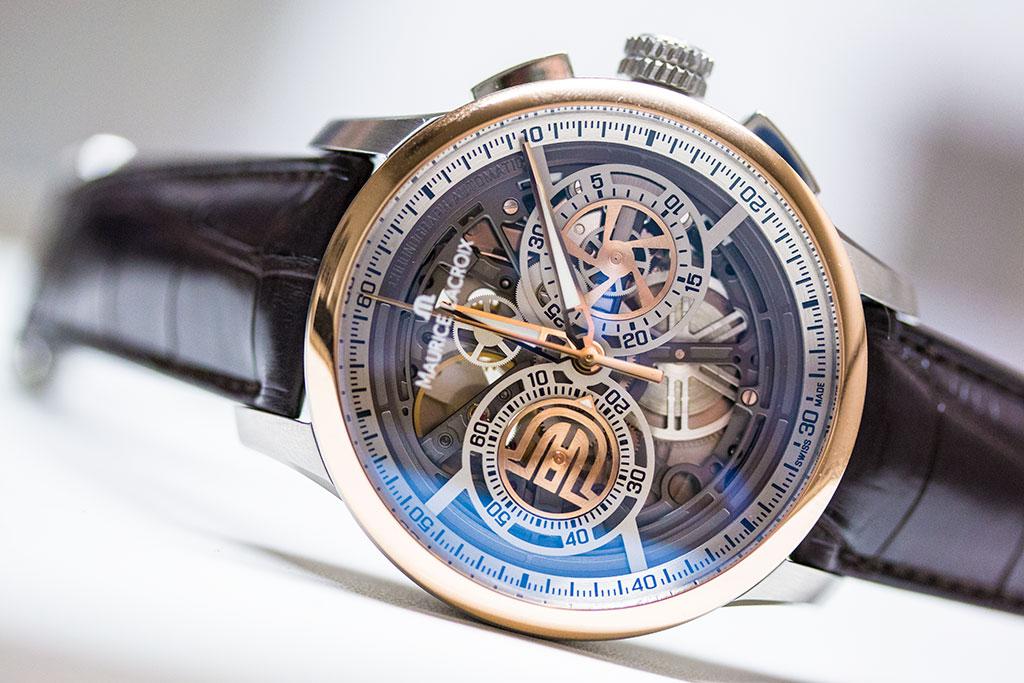 06014fbb4 Maurice Lacroix Skeleton Chronograph Masterpiece Baselworld 2016