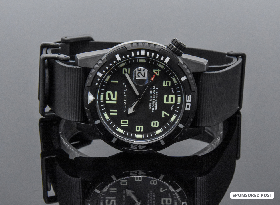 Momentum Watches are some of the best tool watches for divers, police and firefighters.