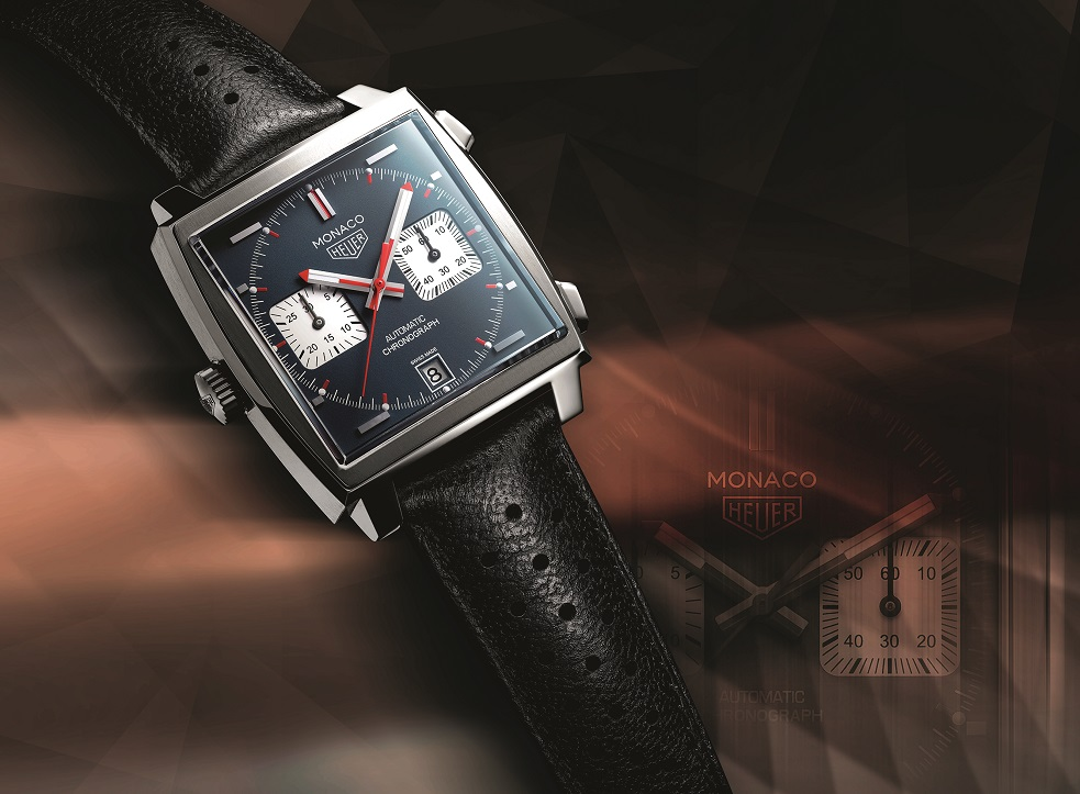 TAG Heuer Monaco 1969 re-release: Monaco Caliber 11 Chronograph