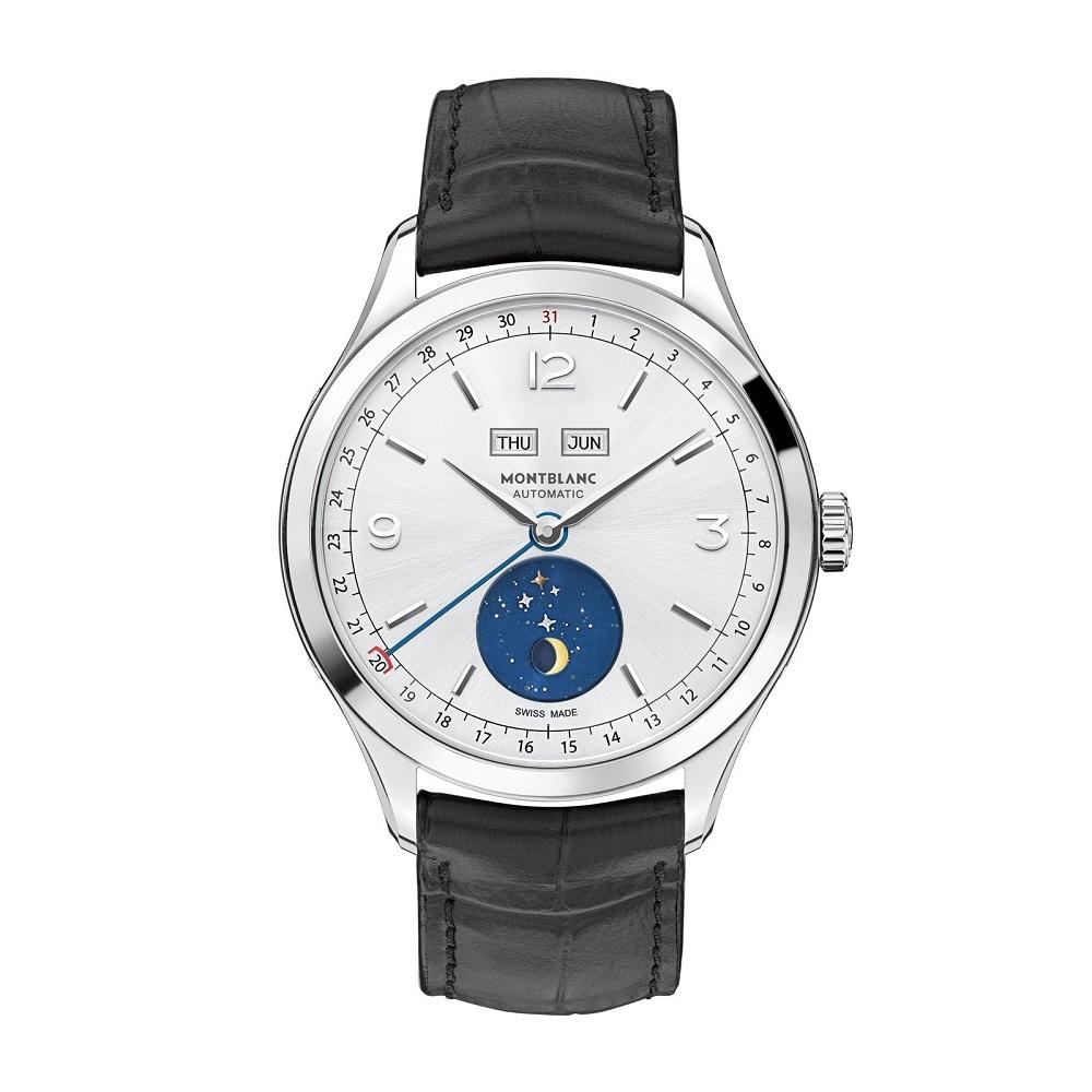 Watches wonders 2015 montblanc heritage chronom trie dual time vasco da gama for Vasco watches