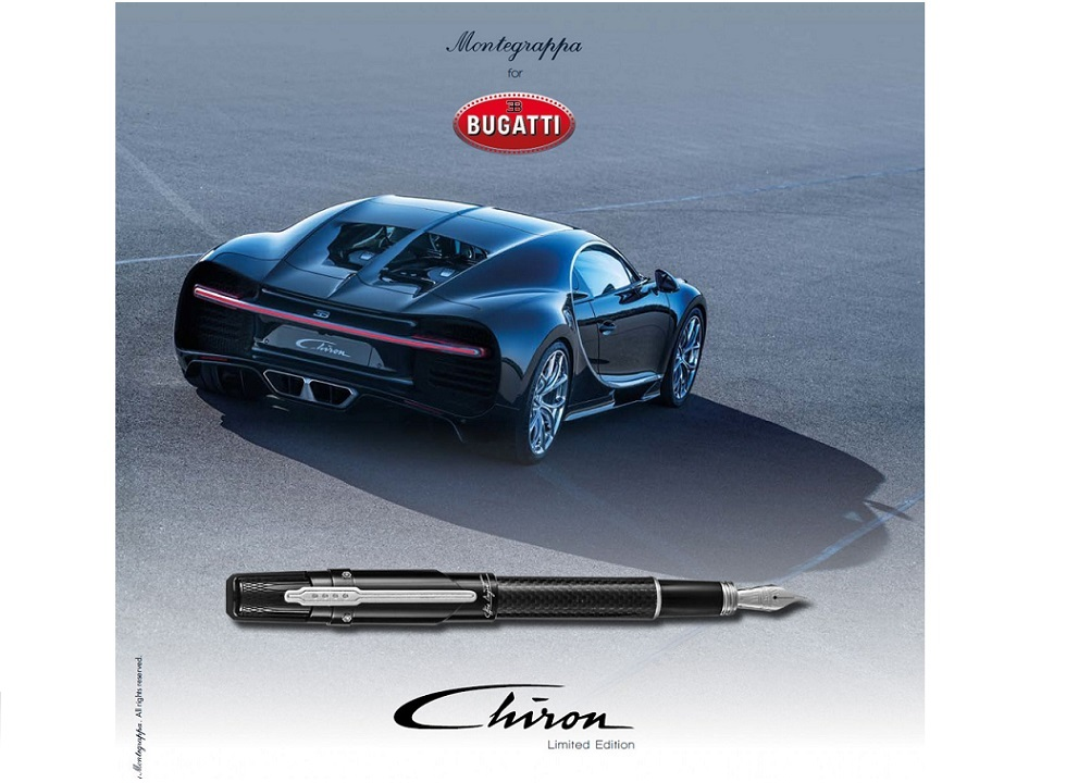 Montegrappa Bugatti Chiron Limited Edition Writing Instruments