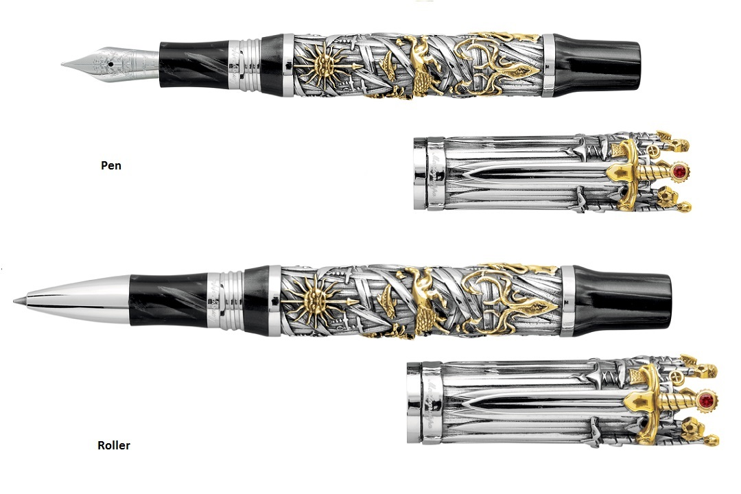 The New Montegrappa Game of Thrones Pen Series is Worthy of the Iron Throne