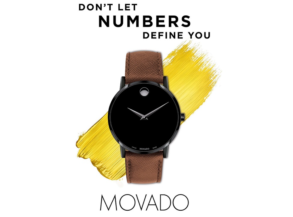Movado Launches 'Don't Let Numbers Define You' Fall 2018 Campaign
