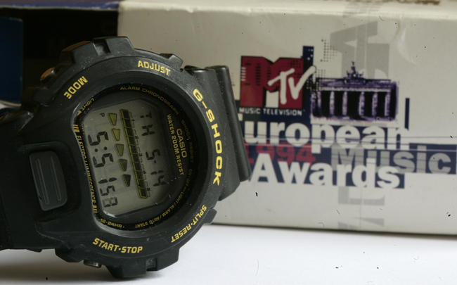 re  g shock 1994 mtv awards