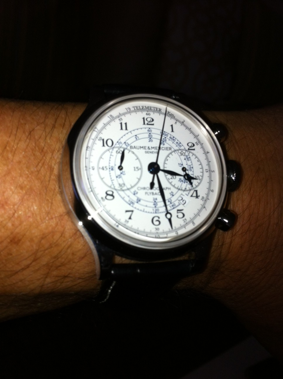 Name:  My Baume and Mercier Capeland Flyback.JPG Views: 8922 Size:  188.8 KB