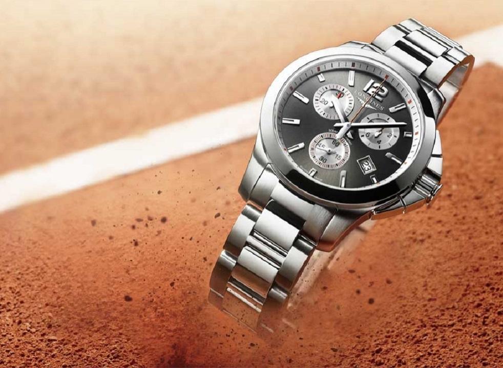 Longines Conquest 1/100th Roland Garros