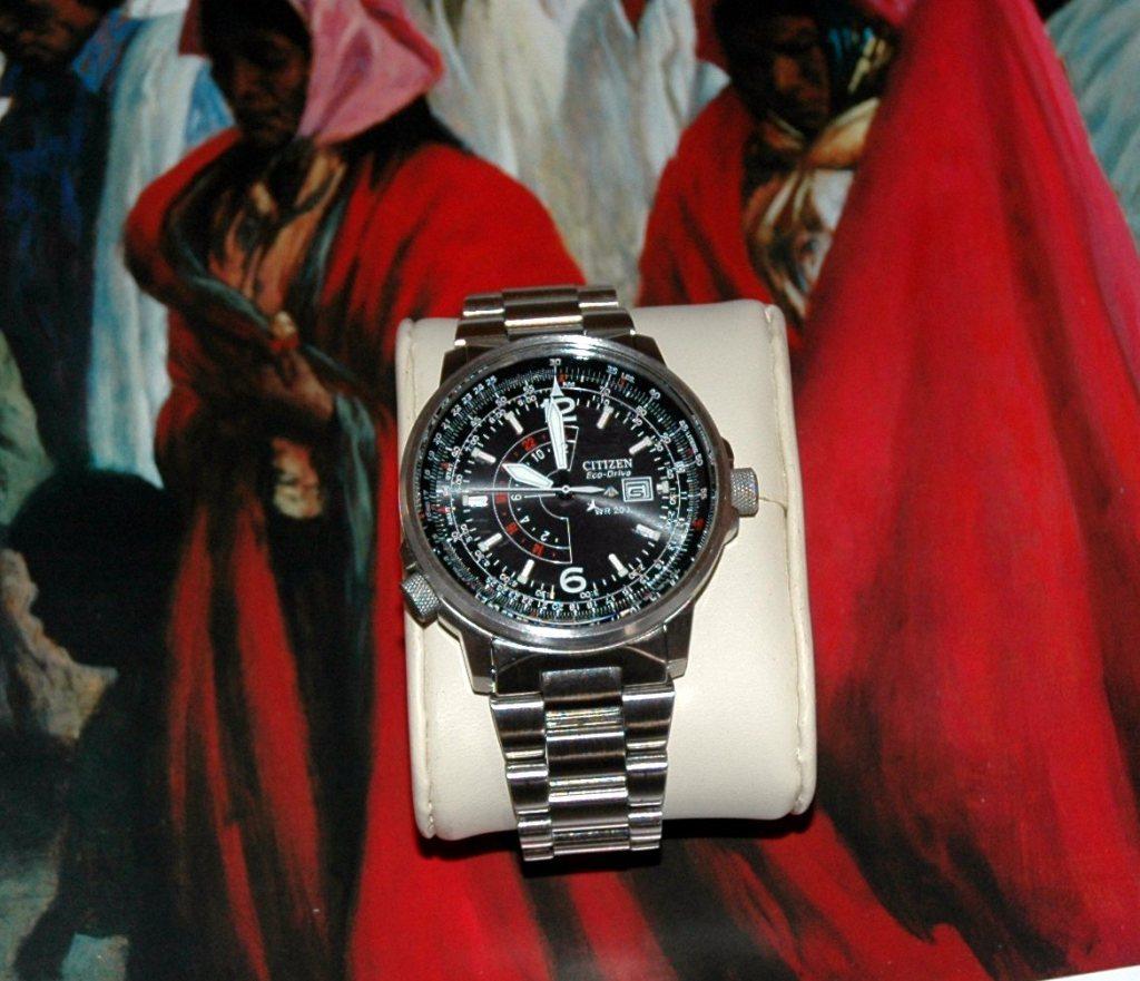 "Citizen Men's BJ7000-52E ""Nighthawk"" Stainless Steel Eco-Drive Watch-奢品汇 | 海淘手表 | 腕表资讯"