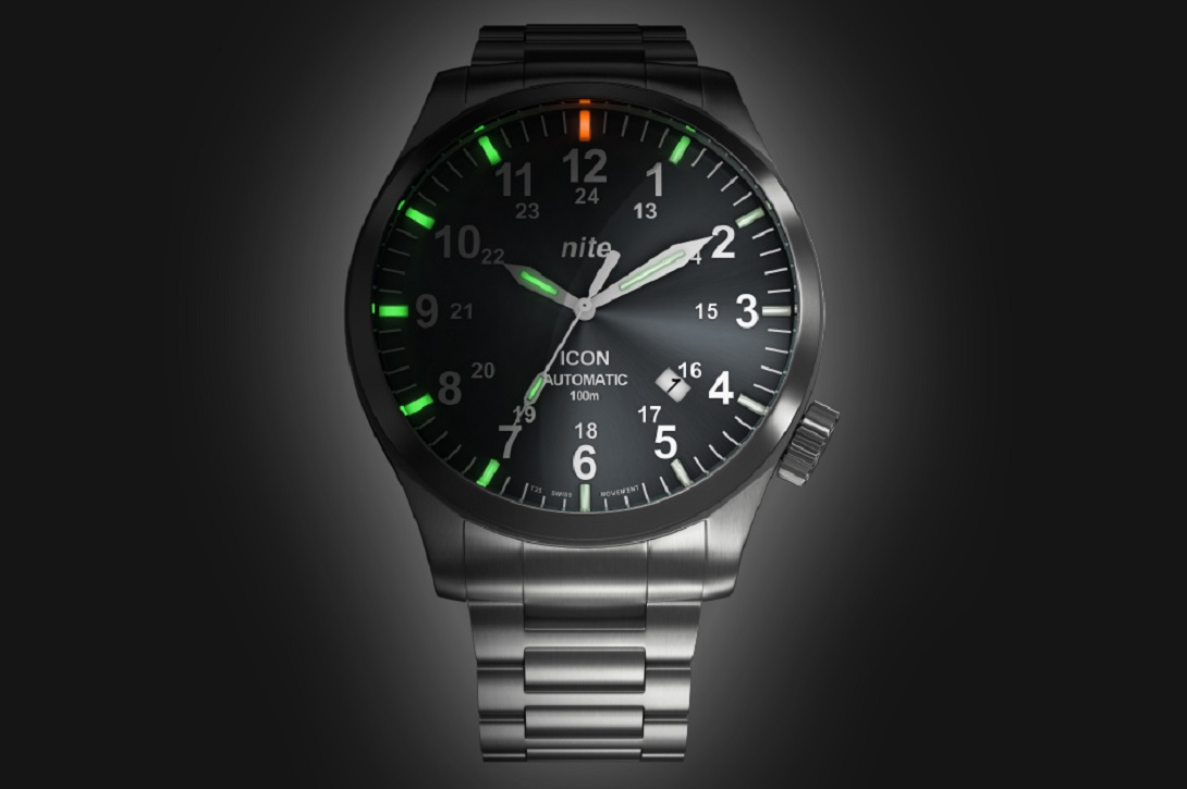 Nite introduces its first automatic watch: ICON Automatic ...