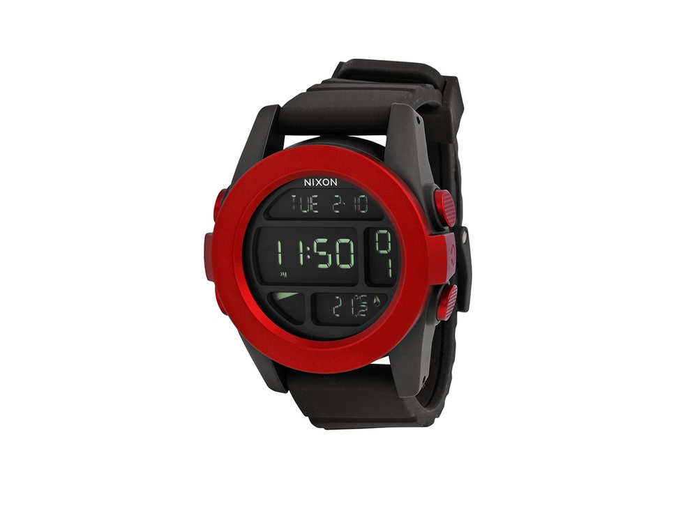 Nixon Unit Black LCD Display Dial - Copy