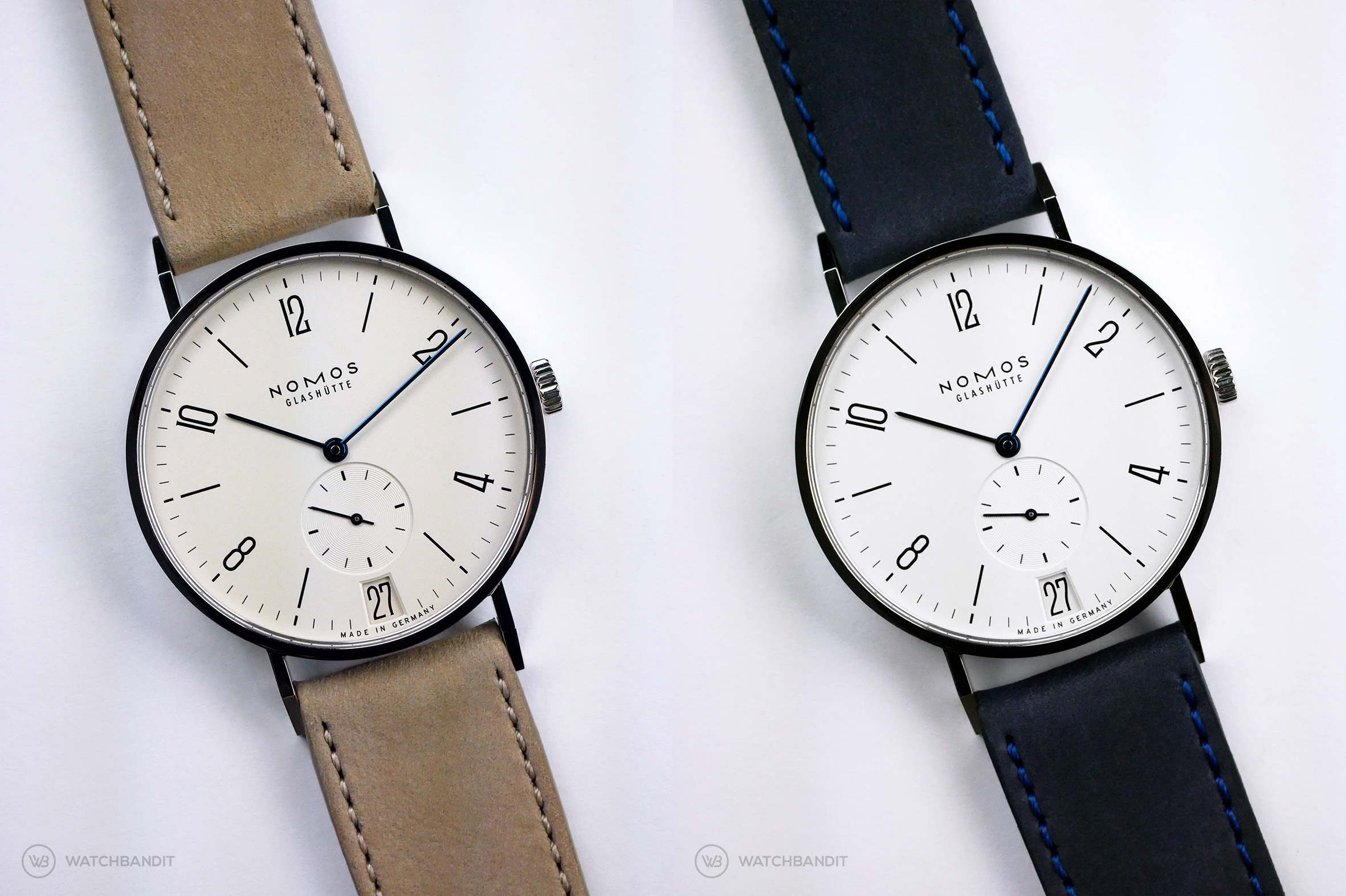 Name:  NOMOS Tangente calfskin leather strap sand blue Watchbandit.jpg