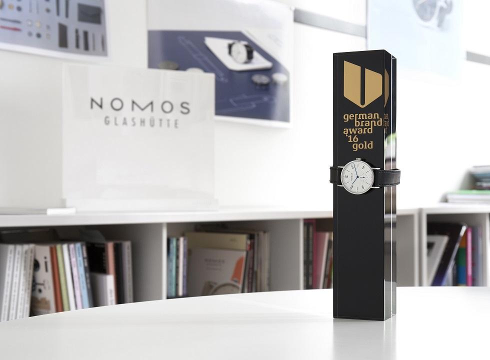 """NOMOS Glashütte voted """"Best Brand in Luxury"""""""