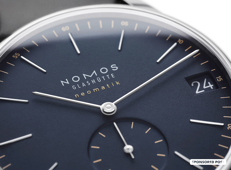 Earlier this year NOMOS Glashütte released its Tangente, Ludwig, and Orion models complete with an all new caliber with integrated date function, ushering in the Update series. Here's a look at the NOMOS Glashütte Orion neomatik 41 date.