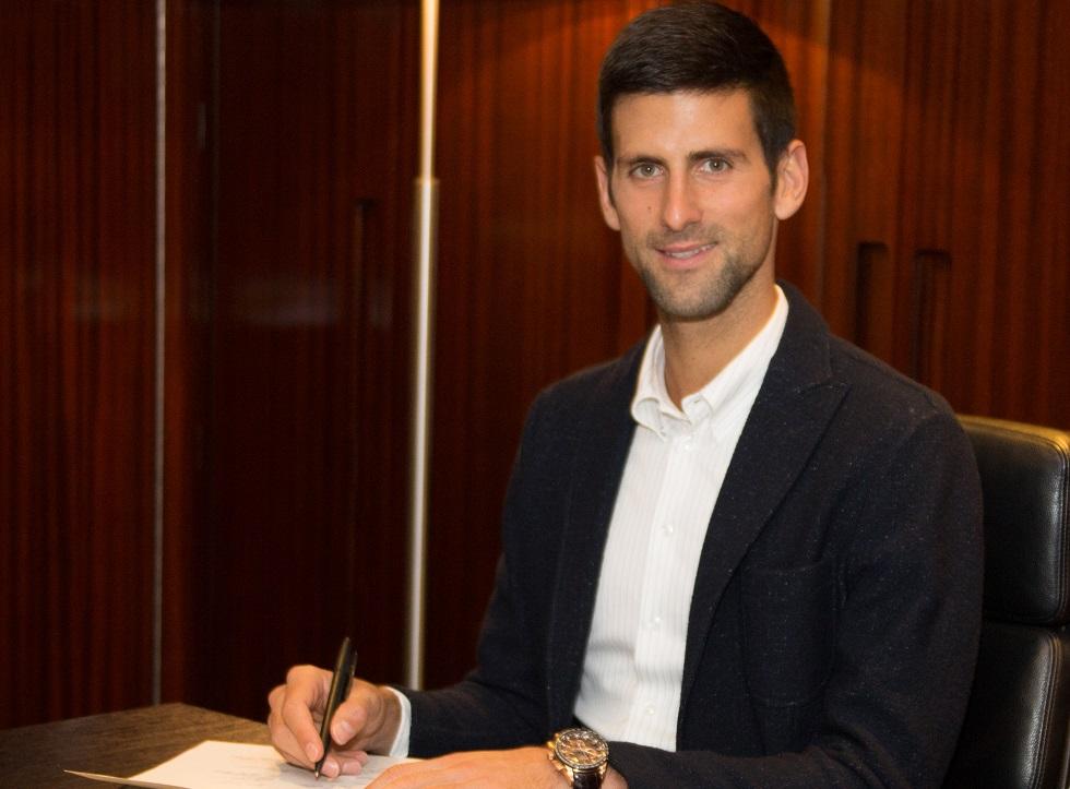 SEIKO Novak Djokovic partnership