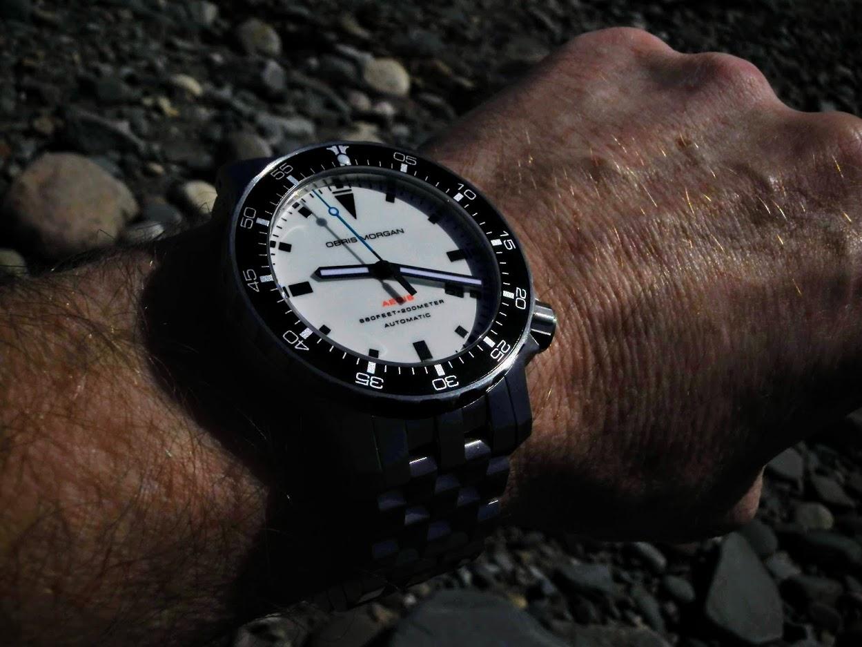 Name:  Obris Morgan Aegis lume dial on wrist 2.JPG Views: 46 Size:  159.0 KB