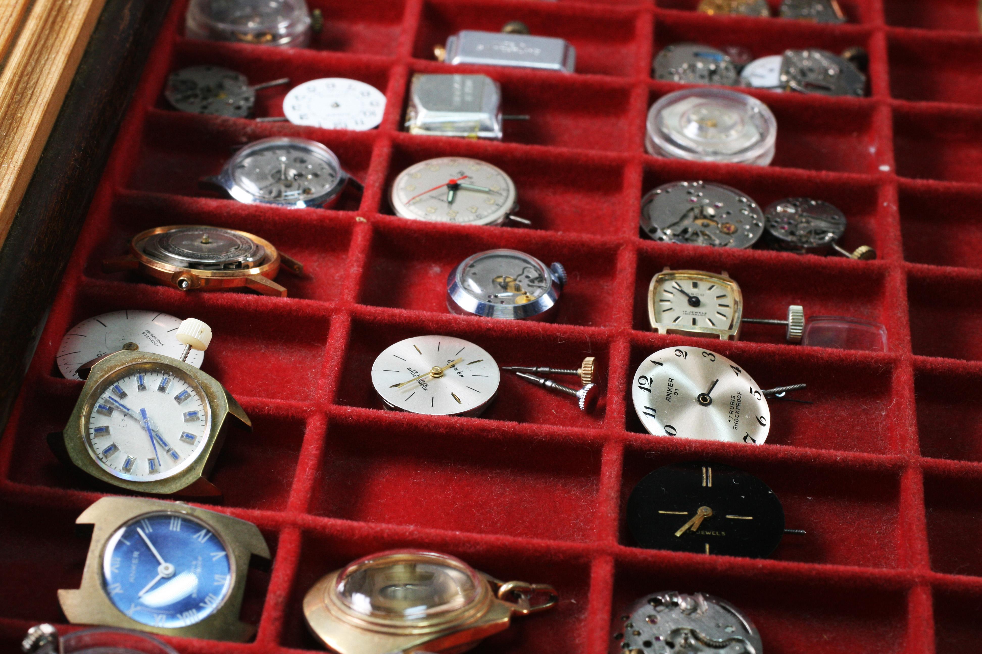 Vintage Ickler watches