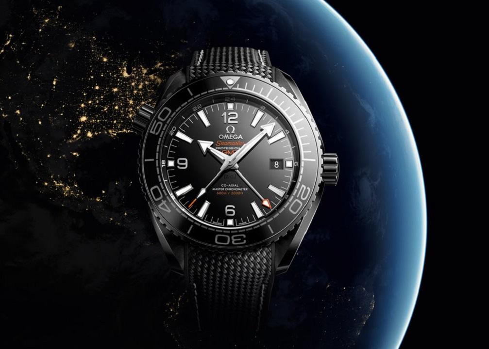 OMEGA Planet Ocean Deep Black