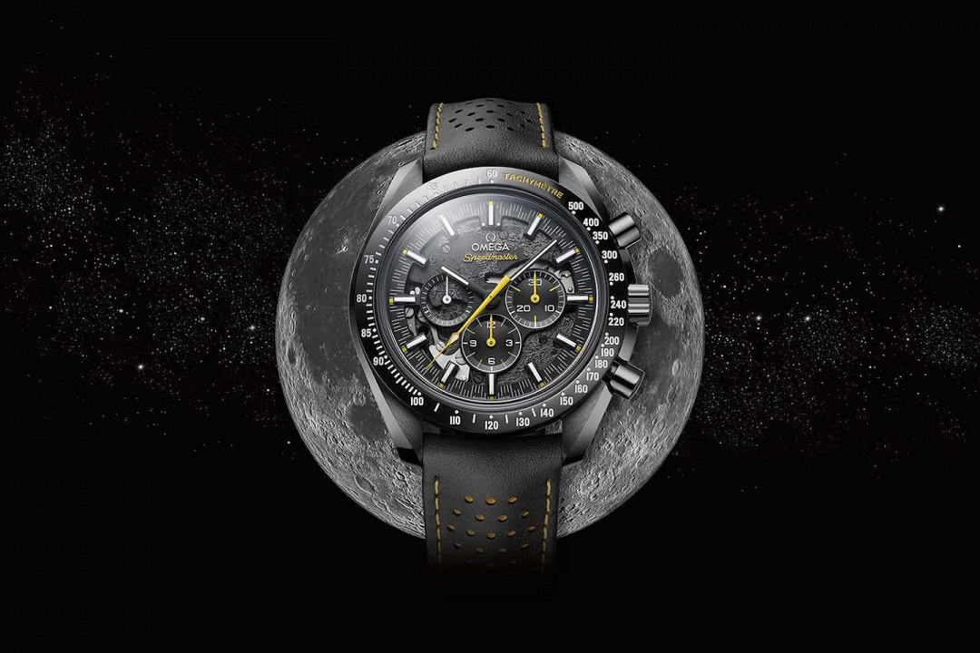 """We'll See You On the Other Side"": OMEGA Speedmaster Dark Side of the Moon 50th Anniversary Edition"