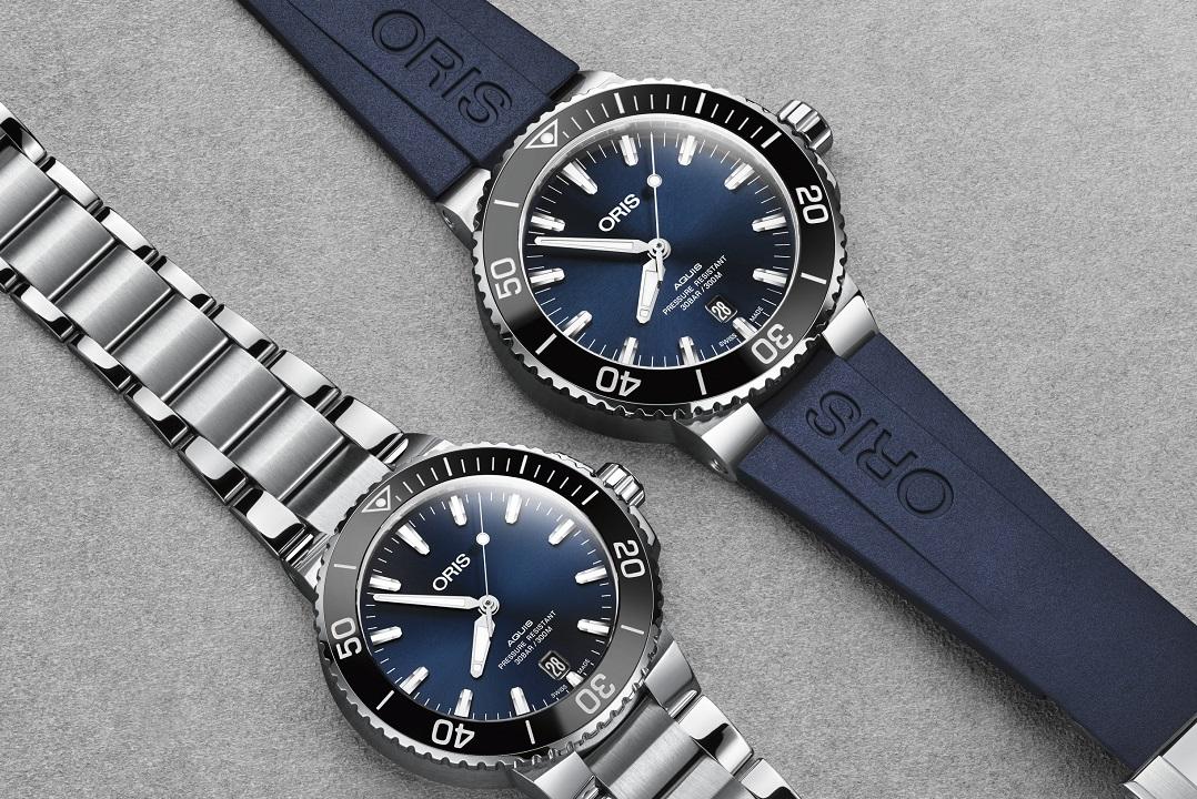 Oris Aquis Date With New 39 5mm Size Watchuseek Com