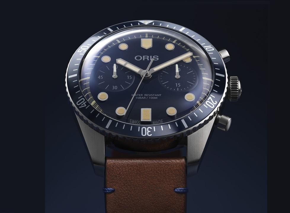 ORIS Divers Sixty-Five Chronograph Bucherer Blue Editions