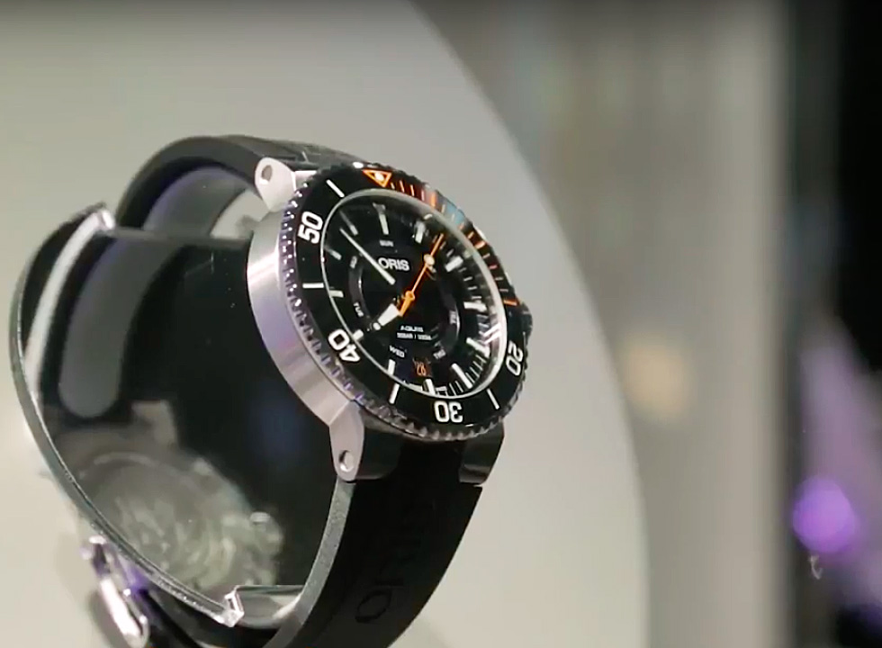 New Oris Watch Collection Video from Baselworld 2017