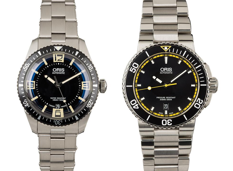 Oris dive watches