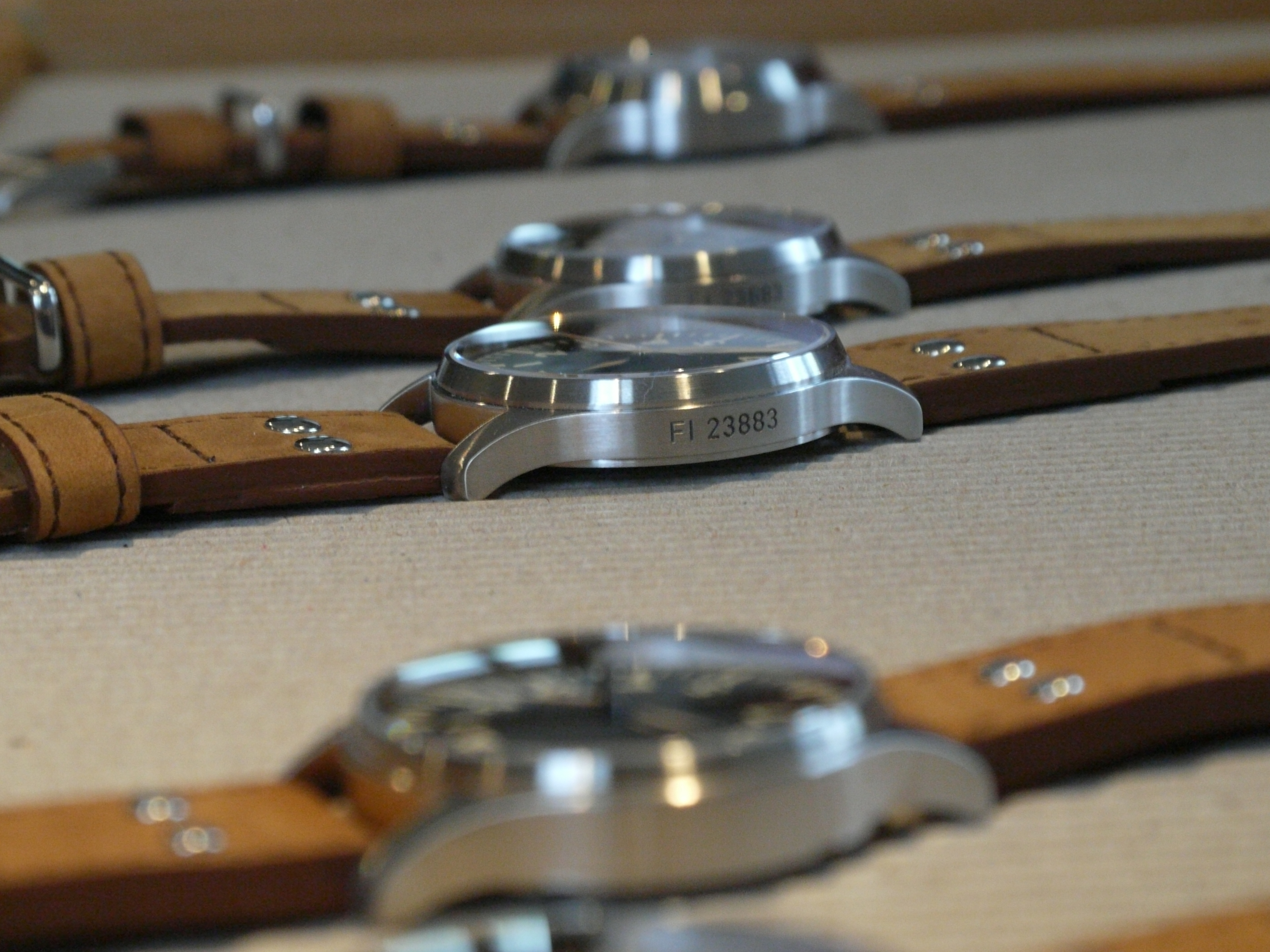 Limited Edition Fliegers with special engraving