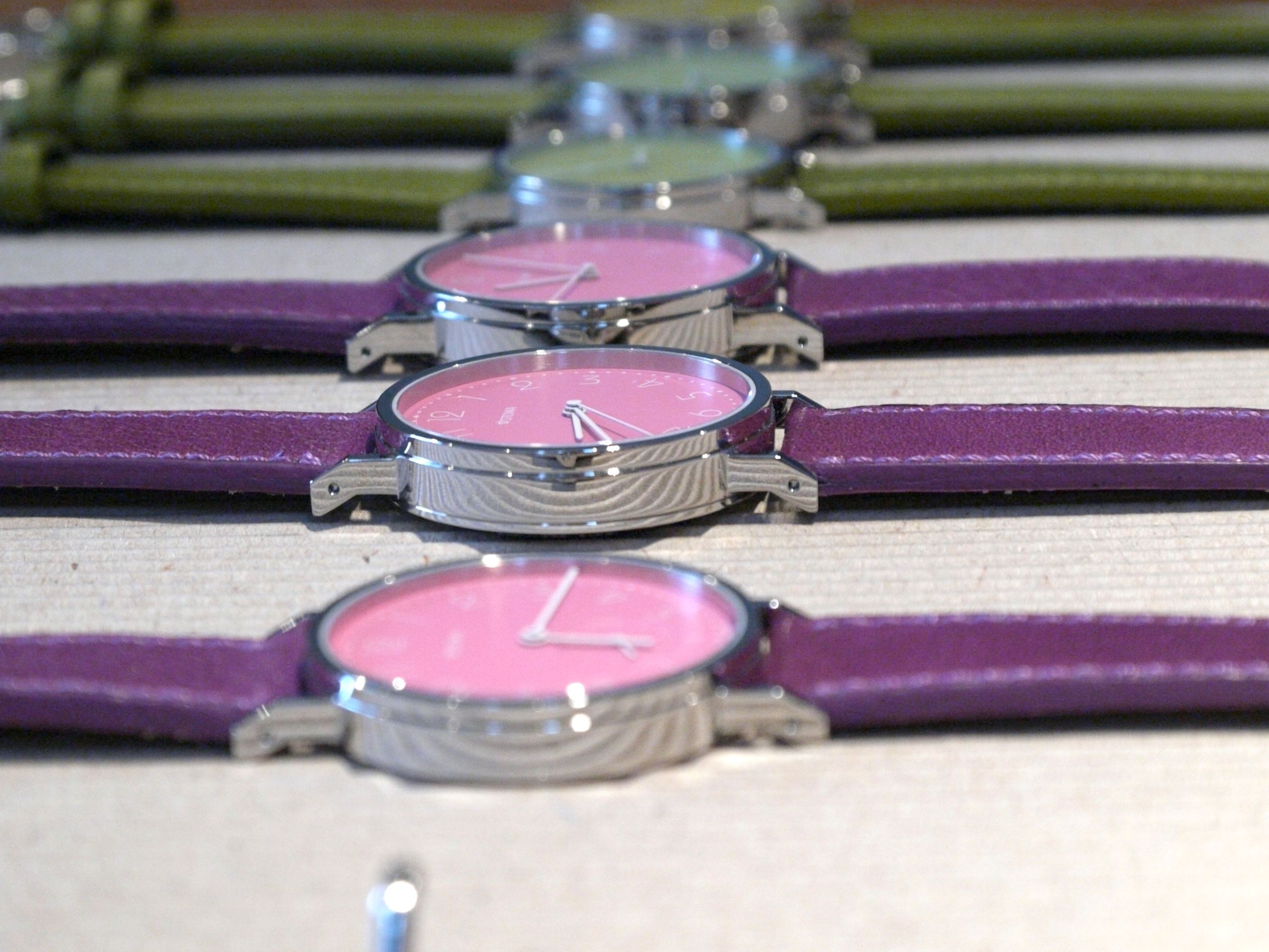 There were also several options for ladies watches
