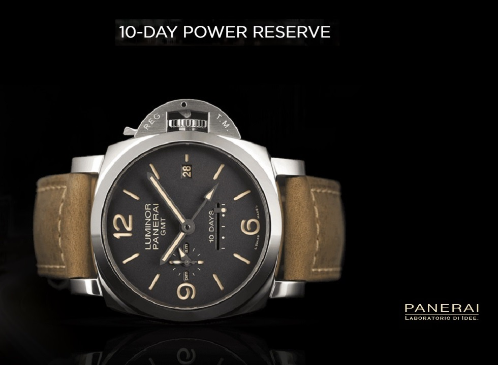 Panerai 10 Day Power Reserve