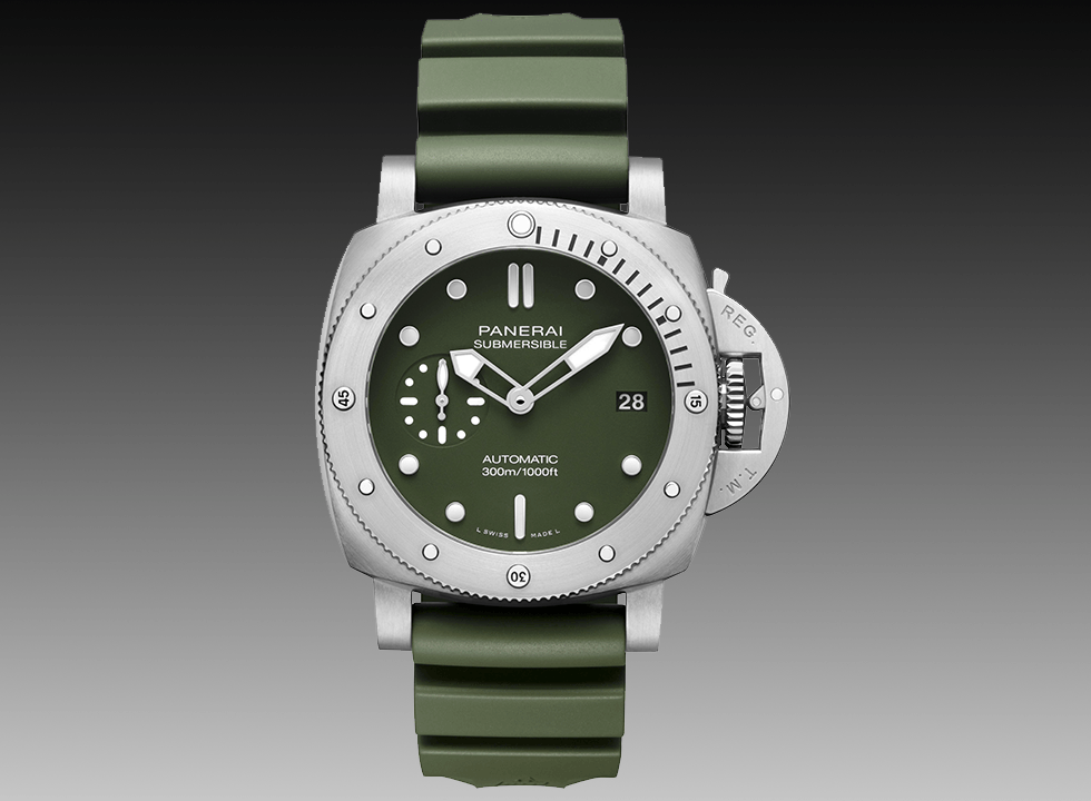 Panerai Submersible Verde Militare Limited Edition