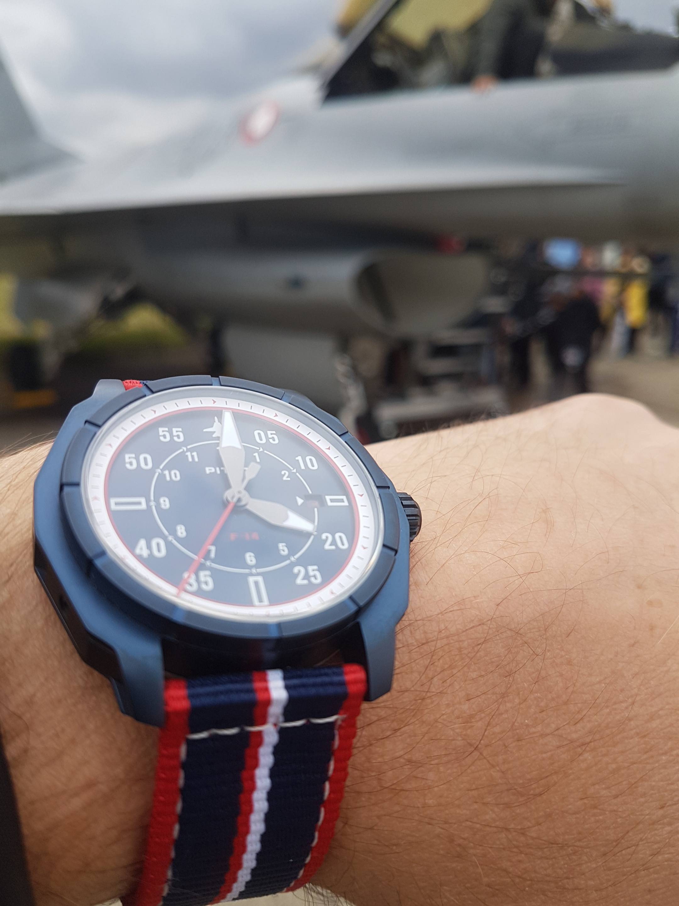The Pitot F-14 collection comes in four different designs limited to 300 pieces each.