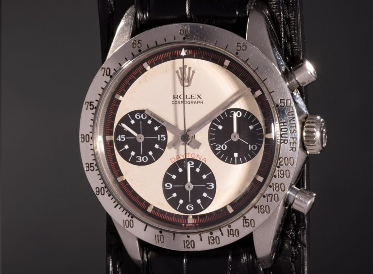The Paul Newman Daytona was just sold for a record price.