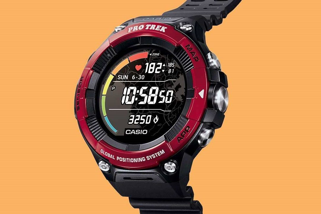 Pro Trek Smart WSD-F21HR with Heart Rate Monitor2