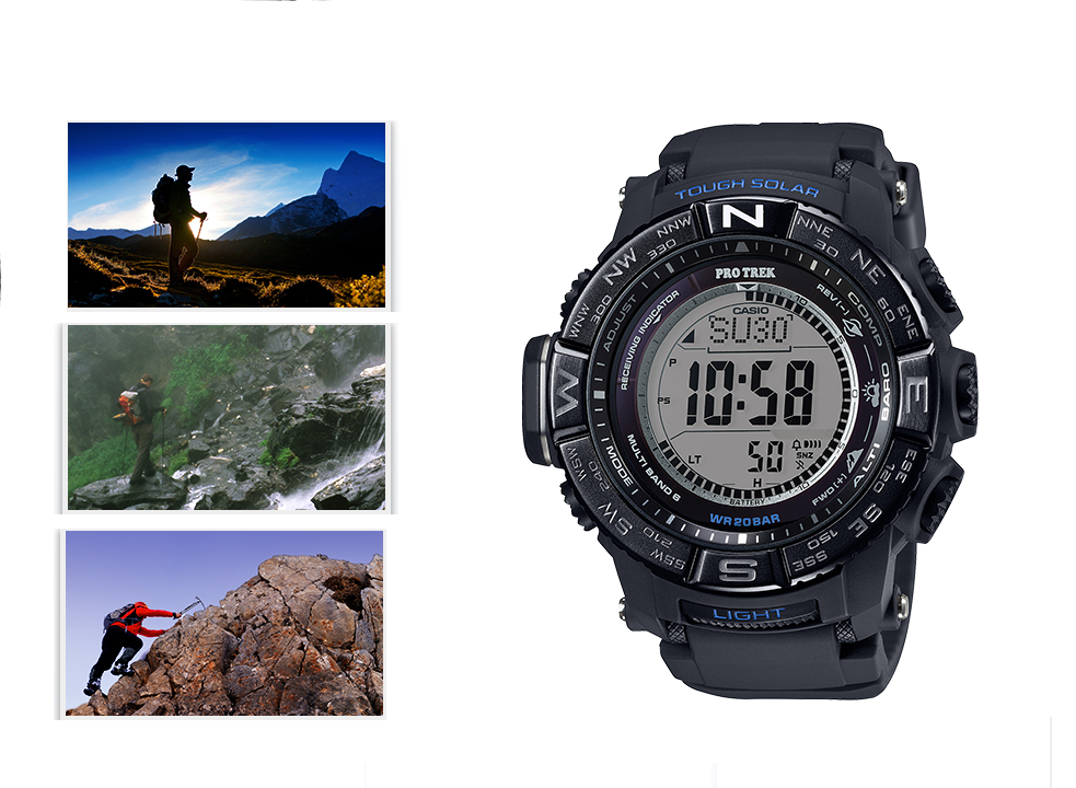 Casio PRO TREK improves features for outdoor enthusiasts