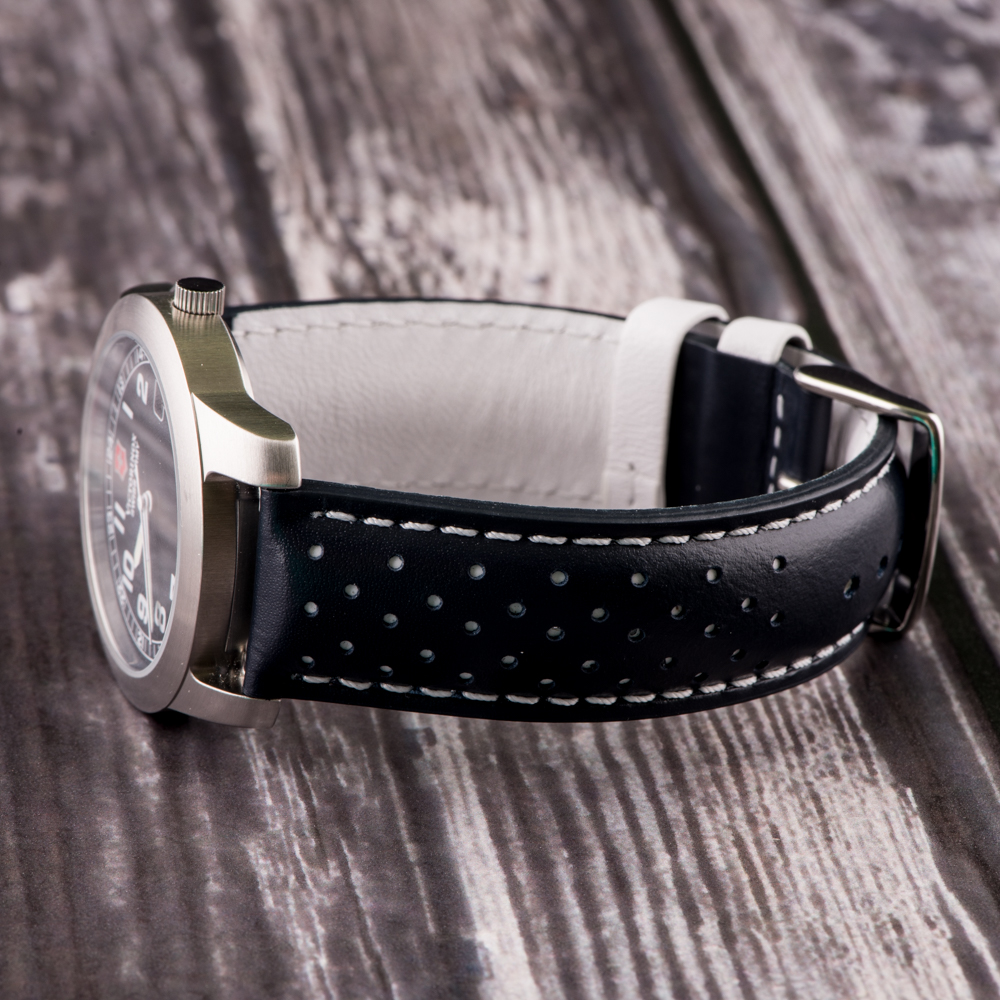 Rally Perforated Leather