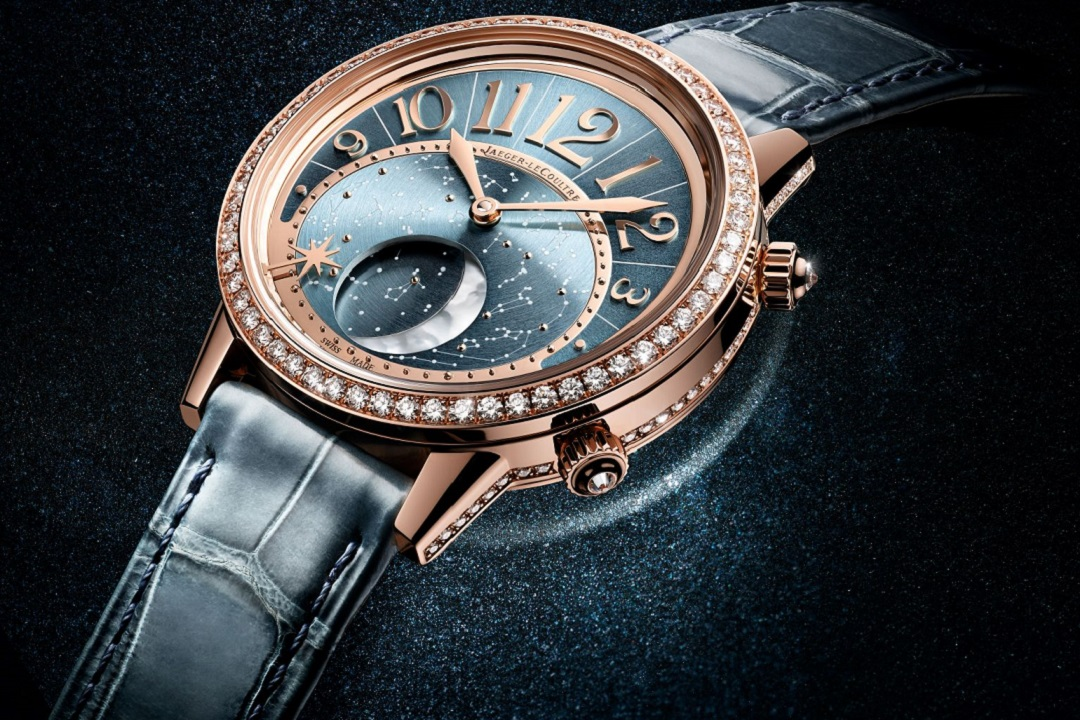 Jaeger-LeCoultre Rendez-Vous Moon Serenity: Moon Phases in an Ocean of Blue