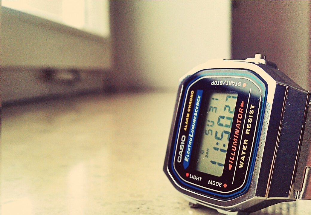 retro_watch_casio_Wallpaper