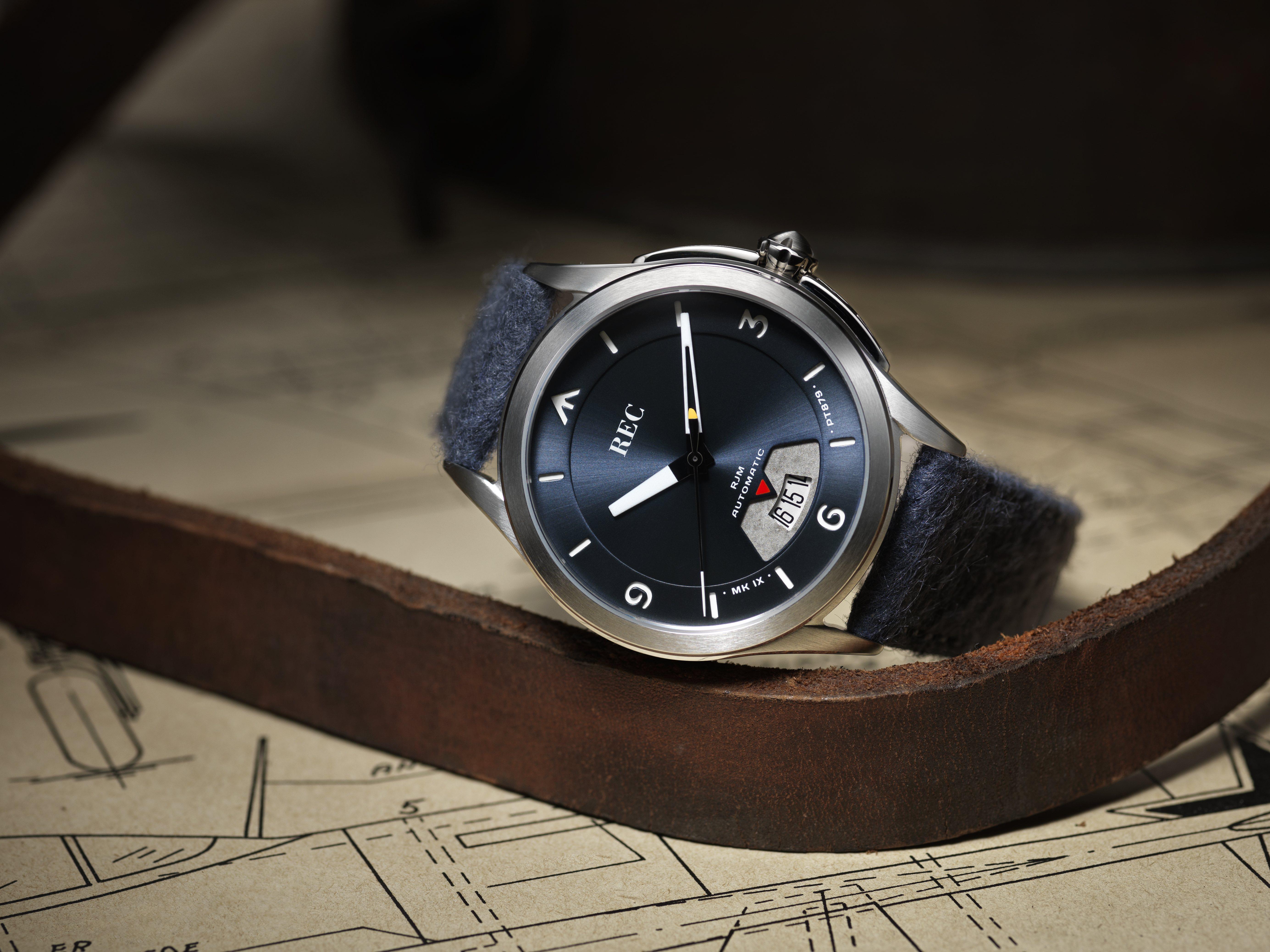 REC Watches RJM Bluebird