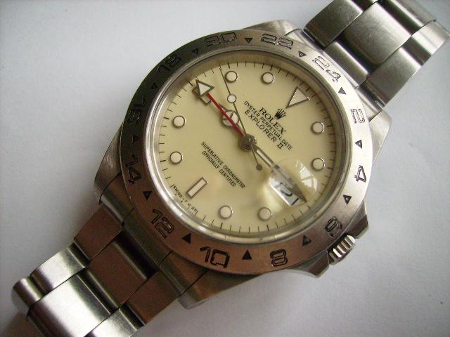 """Rolex Explorer II la """"mal-aimée"""" de la marque 49551d1179718252-rolex-16550-ivory-dial-rolex-16550-ivory-dial"""