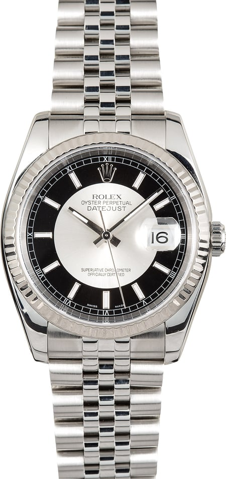 Name:  Rolex-Datejust-116234-Tuxedo-Dial---112854.jpg Views: 90 Size:  72.7 KB