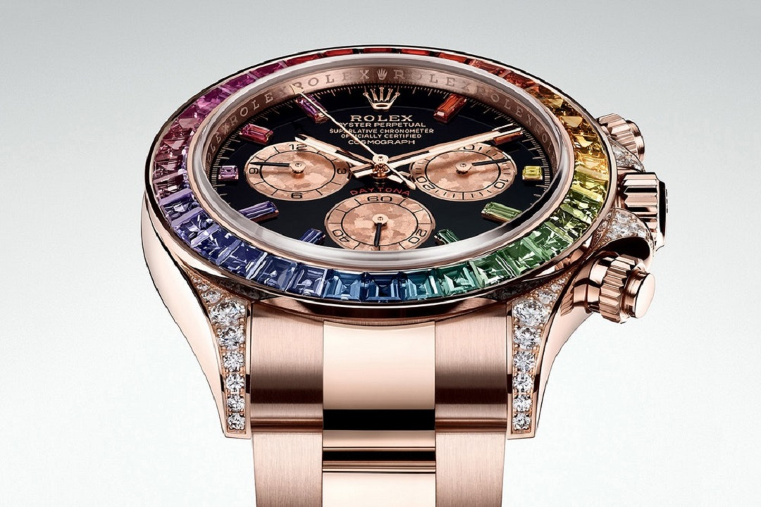 Would You If You Could? Rolex Rainbow Daytona In 18ct