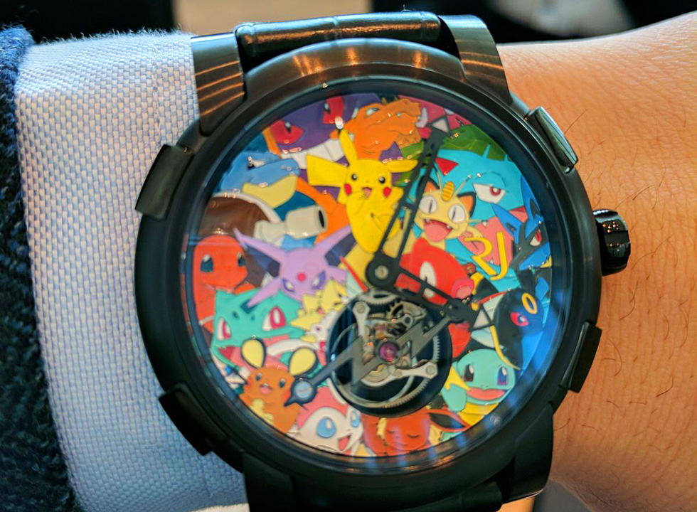 Romain Jerome Watch Collection from Baselworld 2017: Romain Jerome Pokémon