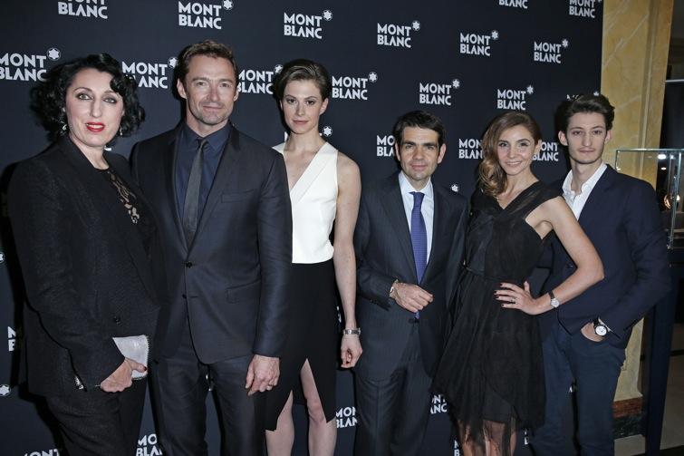 Name:  Rossy de Palma, Hugh Jackman, Elettra Wiedemann, Jérôme Lambert (CEO Montblanc , Clotilde Courau.JPG Views: 363 Size:  105.5 KB