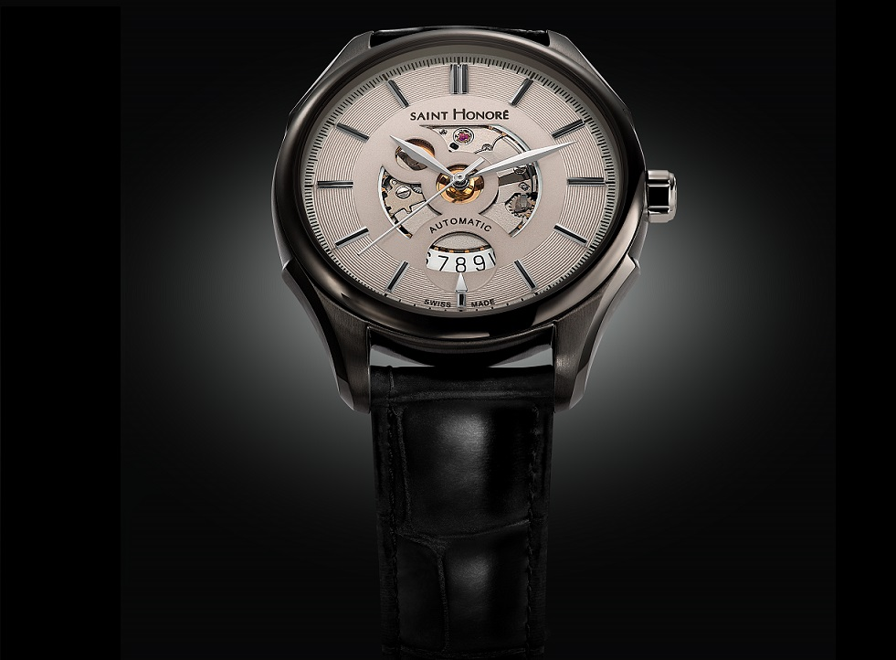 Saint Honore Monceau Ladies and Carrousel Open Dial Men's watches