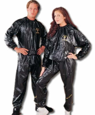 Do you use a sauna suit when you exercise?