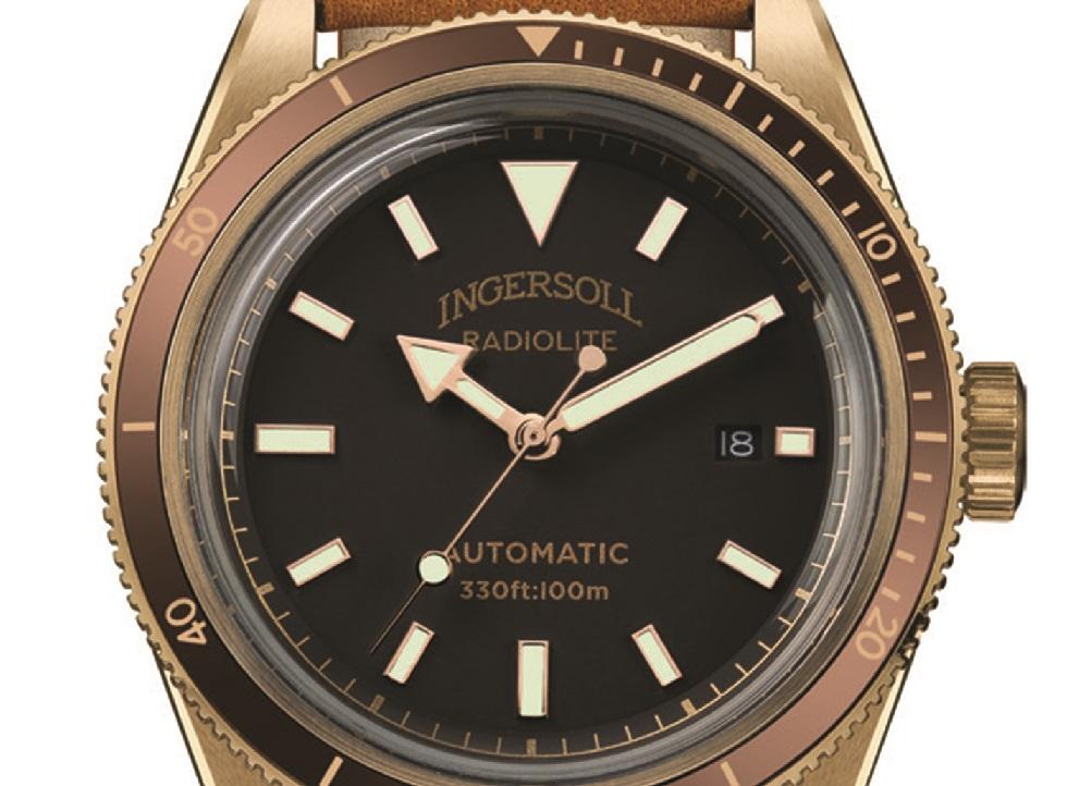 Ingersoll Scovill Bronze 125th Anniversary LE Watch