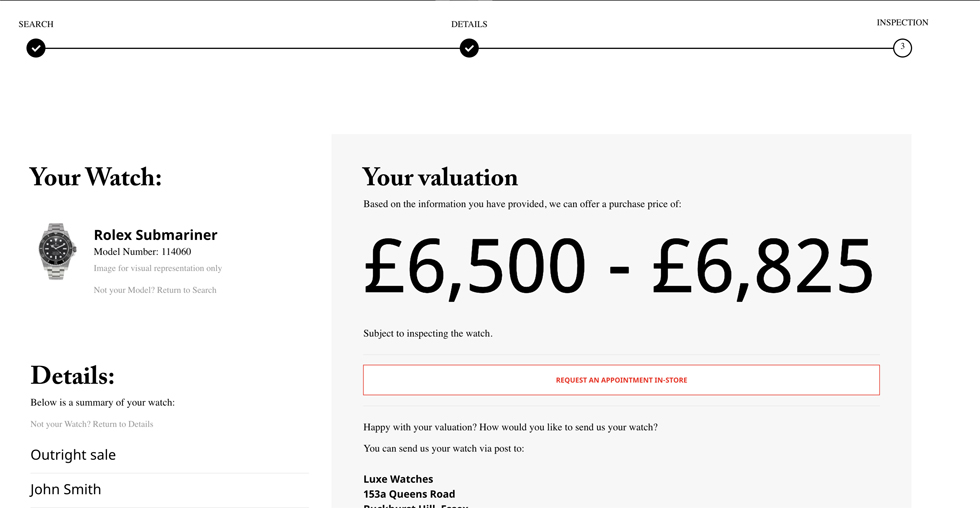 Looking to sell your Rolex but not sure what it's worth. Here's how you use Luxe's Rolex valuation tool.